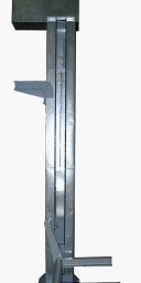 Подъемно опрокидывающее устройство для 200 литровых тележек