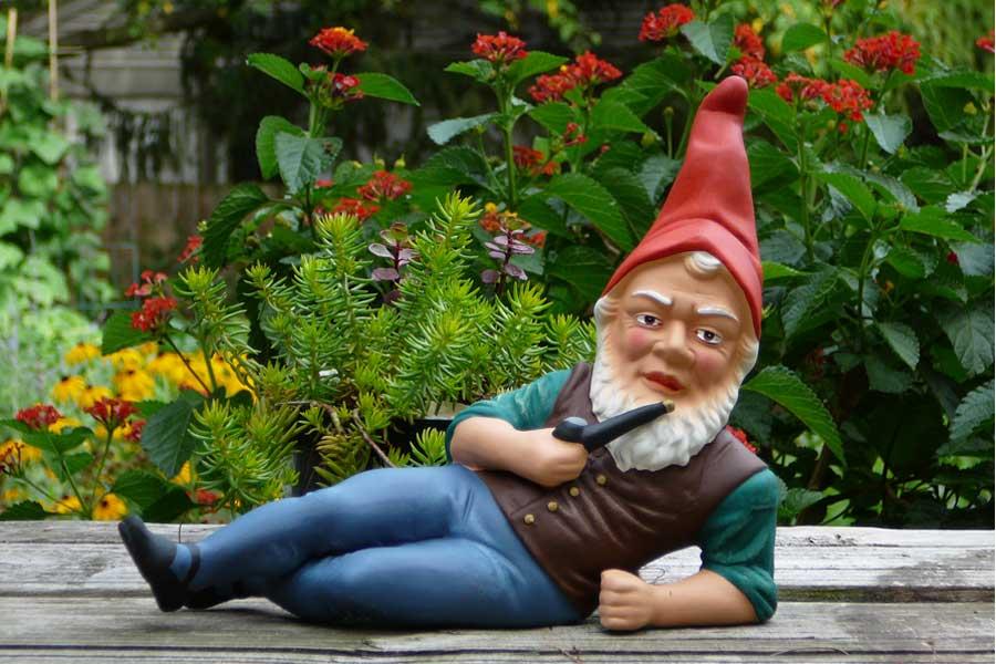 Садовый гномик как символ немецкой идентичности