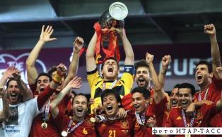 Испания-чемпион