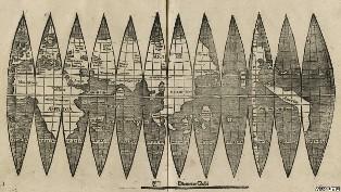 В Германии нашли одну из первых карт Америки
