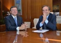 Греки не могут согласовать план сокращения расходов