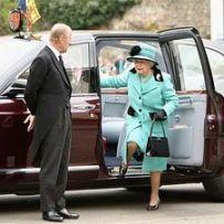 Водитель для Елизаветы II