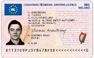 Новый формат водительского удостоверения вводится в Европе