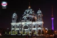 Фантастическая иллюминация поможет увидеть ночной Берлин в новом свете