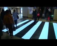 В Бельгии испытали инновационный пешеходный переход