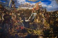 Батальный монументализм польского живописца оживает в… вышивке