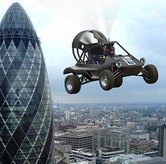Автомобили учатся летать