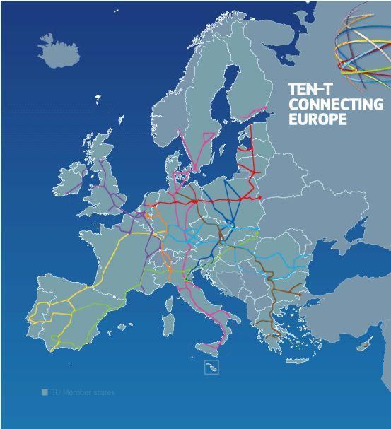 700 млрд евро для общеевропейской транспортной сети