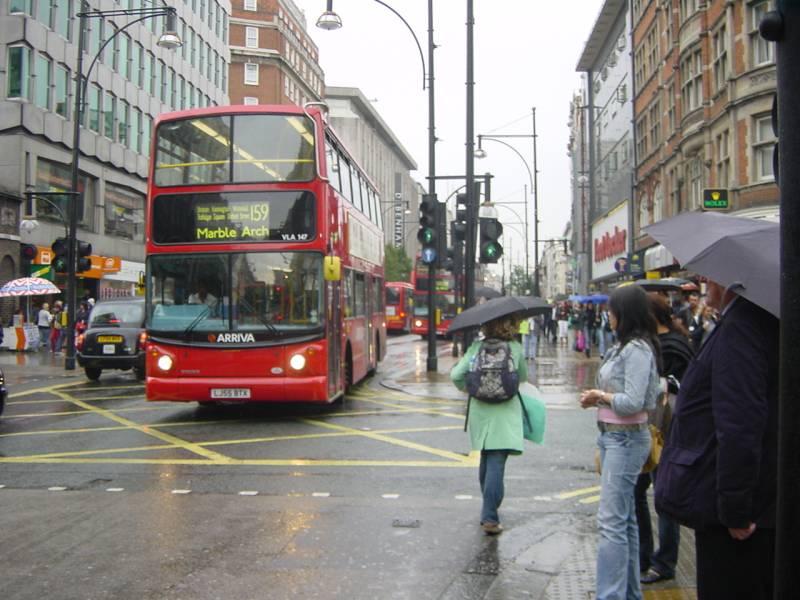 Лондон «озеленяет» городской парк автобусов