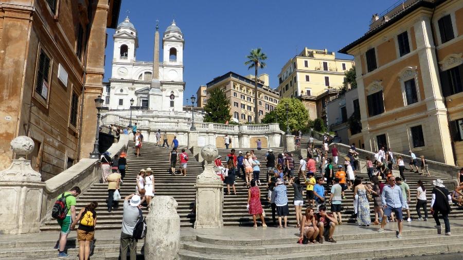 Испанская лестница в Риме вновь открыта для туристов