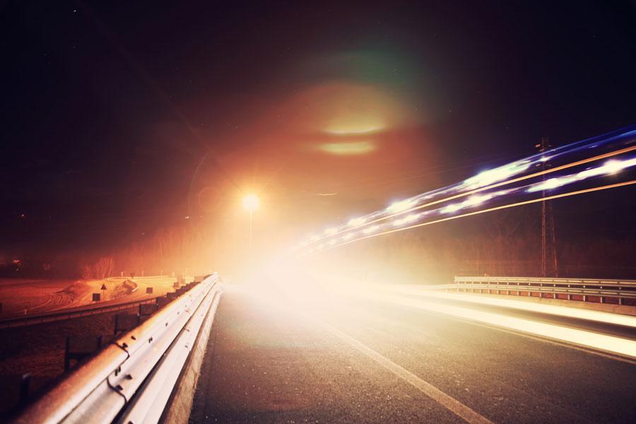 В Бельгии появится дорога со светодиодным освещением, которая сама будет регулировать яркость фонарей