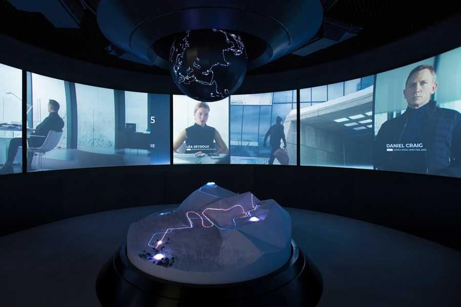 В австрийских Альпах открылся музей, посвященный Джеймсу Бонду