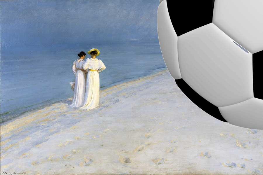 Онлайн-библиотека Европеана открыла народное голосование в арт-турнире в честь чемпионата мира по футболу