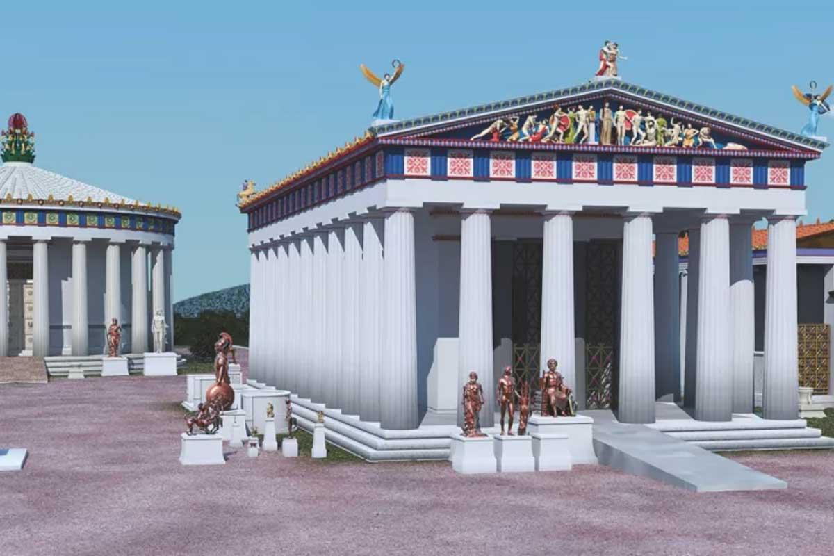 Древнегреческие архитекторы могли делать храмы доступными для людей с инвалидностью, предположили археологи