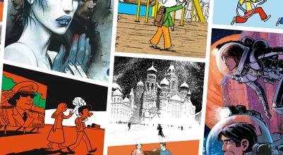 Онлайн-выставка «Звезды французского комикса в России»