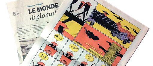 Выставка комиксов из Германии «О белом зайце, арабской коле и последнем странствующем голубе»