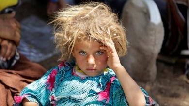 طفلة أيزيدية عراقية