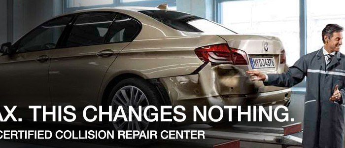 bmw collision repair