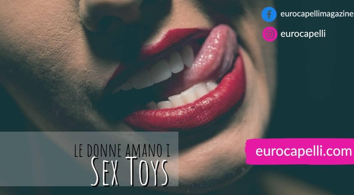 Sesso, i Sex Toys più amati dalle Donne