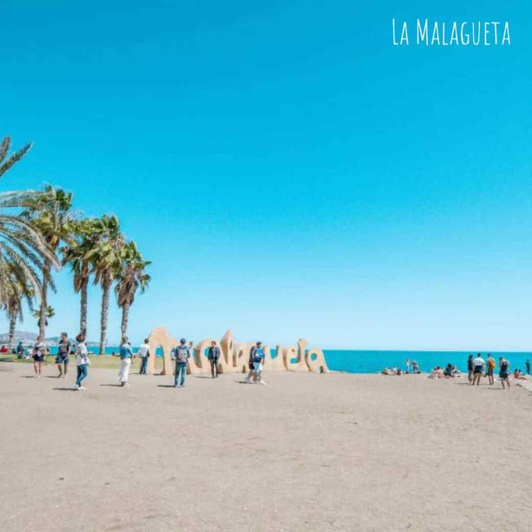 spiaggia malaga la malagueta