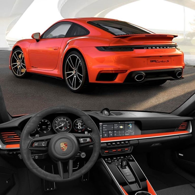 What about the 911 Turbo S in orange? ……………………………………….