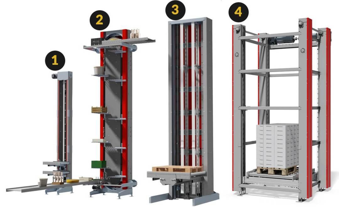 Вертикальные лифты