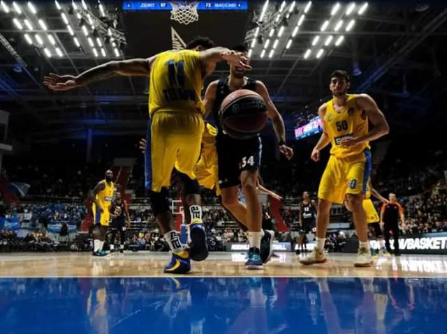 Il Maccabi cambia marcia nel terzo quarto e passa agevolmente in casa dello Zenit