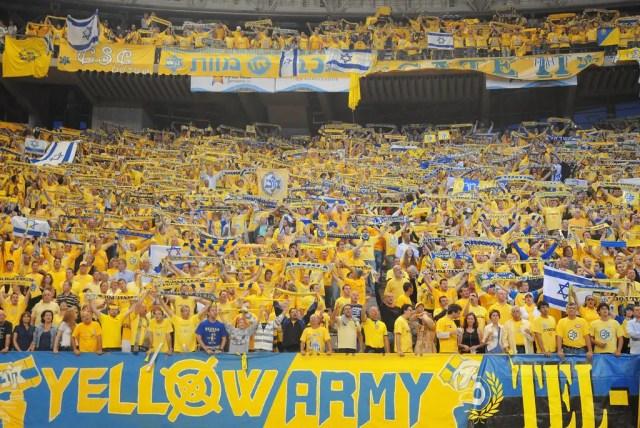 Le origini del colore giallo nella maglia del Maccabi
