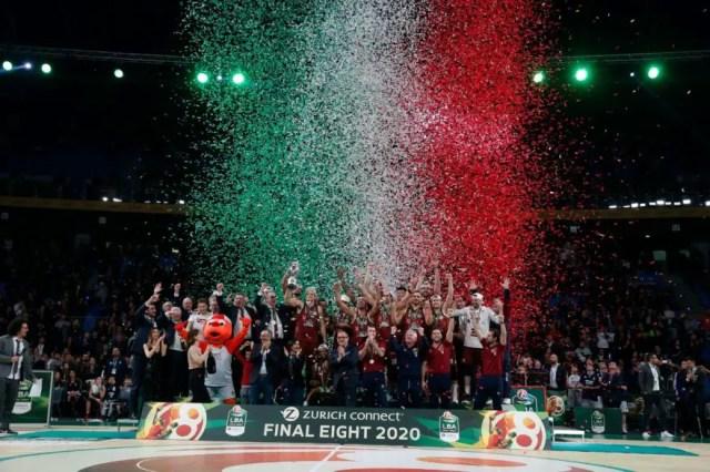 Zurich Connect F8 2020 – L'Umana Reyer Venezia si aggiudica la Coppa Italia, battendo la Happy Casa Brindisi
