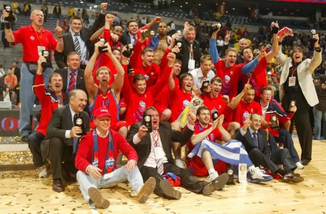 2006: il quinto successo del CSKA Mosca
