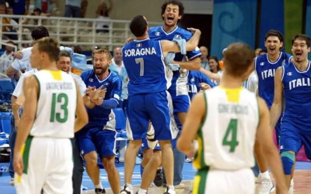 L'impresa azzurra di Atene 2004 contro la Lituania