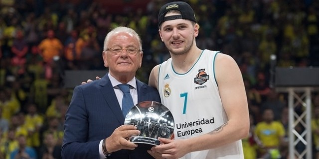 MVP: Final Four –  Luka Doncic si siede sul tetto d'Europa