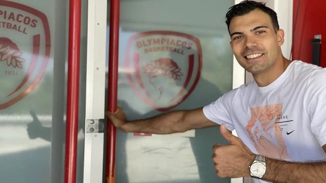 Kostas Sloukas: L'avevo promesso, sono tornato