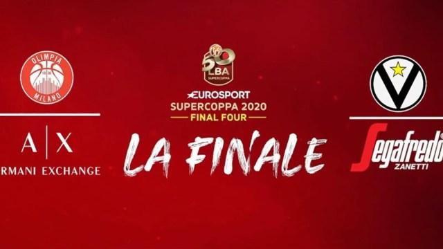 L'Olimpia Milano si aggiudica l'Eurosport Supercoppa nel segno di Gigi Datome