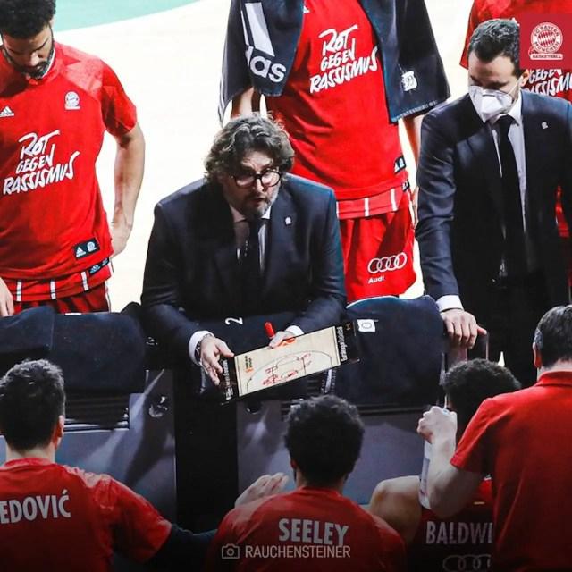 Ufficiale: Andrea Trinchieri rinnova fino al 2023 con il Bayern Monaco
