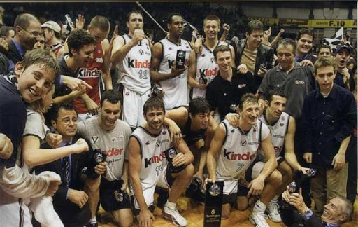 Virtus Bologna, Eurolega 2001 - Eurodevotion