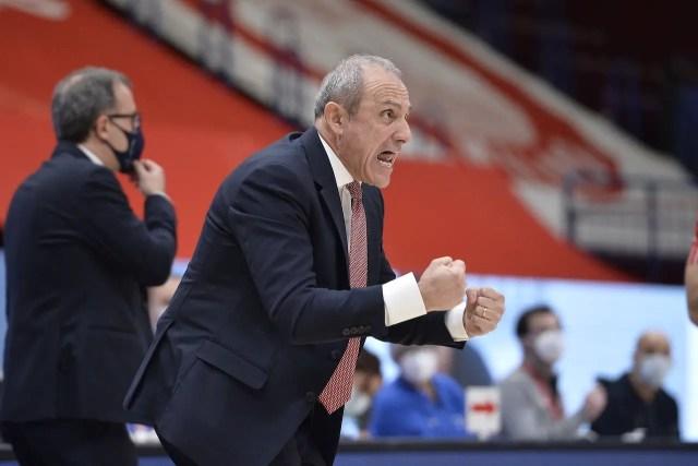 Olimpia Milano, Messina: Affrontiamo una squadra in grande forma