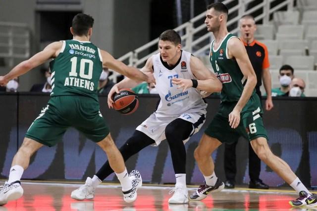 Panathinaikos-Zenit: Gudaitis c'è, il 18° round di Eurolega è russo