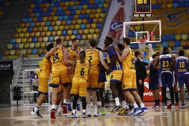 Gran Canaria-Boulogne: Gli spagnoli firmano il 2-0 e volano in semifinale di EuroCup