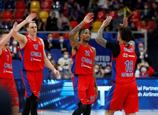 CSKA-Fener (G1): Hackett e Clyburn guidano i russi sul 1-0 nella serie