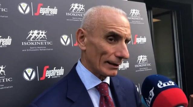 Virtus, Baraldi: Ci giochiamo uno scudetto, ci crediamo tutti e i primi a crederci sono il coach e i giocatori.