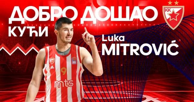 Luka Mitrovic torna alla Stella Rossa