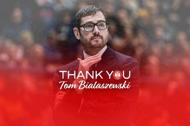 Tom Bialaszewski lascia l'Olimpia Milano