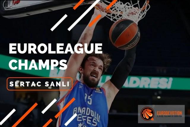 EUROLEAGUE PLAYERS 2020/21: Sertac Sanli