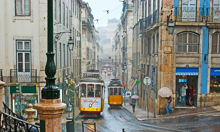 Chuva em Portugal