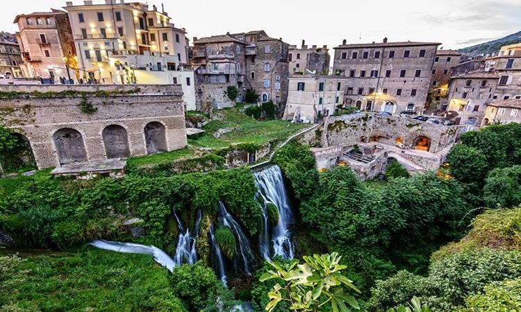 Tivoli na Itália