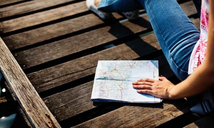 explore o mapa de portugal