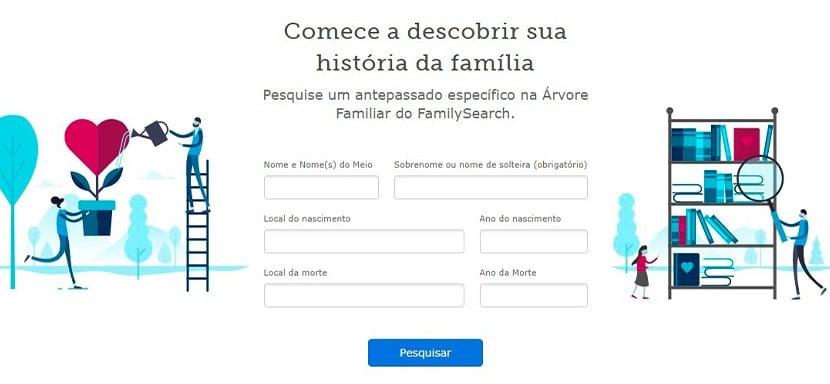 busca Familysearch