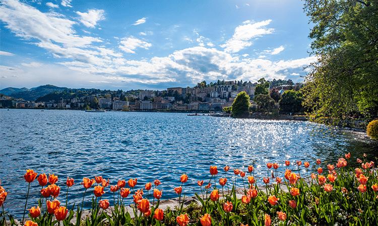 clima na primavera na Suíça