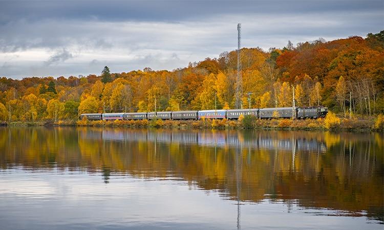 clima no outono da Suécia